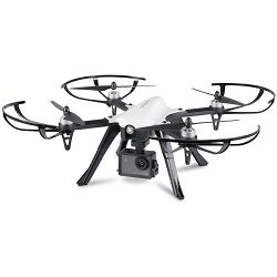 Dron OVERMAX X-BEE 8.0, 4K UHD Activecam 4.1 kamera, 6-osni žiroskop, vrijeme leta do 19min, upravljanje daljinskim upravljačem, crni
