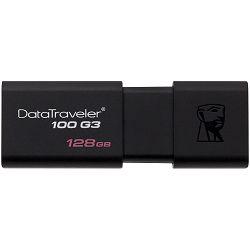 Kingston USB 128GB USB 3.0 DataTraveler 100 G3 (100MB/s read , 10MB/s write), EAN: 740617249231