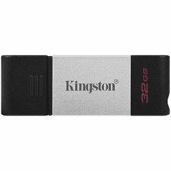 KINGSTON DT80 32GB Flash USB 3.2 Gen 1, USB-C Storage