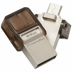 Kingston 64GB DT MicroDuo USB 2.0 micro USB OTG, EAN: 740617229202