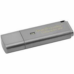 Kingston USB 16GB 3.0 DTLPG3 w/Hardware encryption, USBtoCloud, EAN: 740617218596