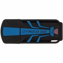 Kingston 16GB USB 3.0 DataTraveler R30G2 120MB/s read, 25MB/s write, EAN: 740617225242