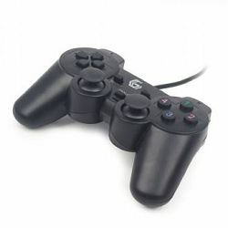 Dual vibration gamepad
