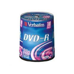 VERBATIM DVD-R 100kom S, 16x, 4.7GB
