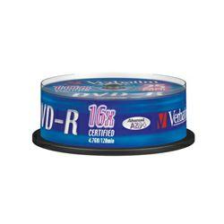VERBATIM DVD-R 25 kom S, 16x, 4.7GB