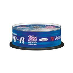 VERBATIM DVD-R 25 S, 16x, 4.7GB Wpp ID