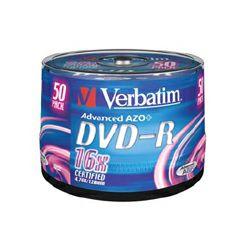 VERBATIM DVD-R 50 kom S, 16x, 4.7GB