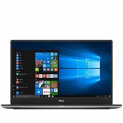 Laptop DELL XPS 15 9560 15.6 UHD (3840 x 2160)Touch, Intel Core i7-7700HQ Quad (6M,up to 3.8 GHz), 16GB, 512 SSD, GeForce GTX1050 4GB, noDVD, WiFi, BT, WiDi, HDcam, Mic, 2xUSB 3.0 PWS,USB-C PWS, H