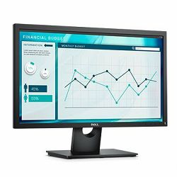 Monitor DELL E-series E2318HN 23, 1920 x 1080, FHD, IPS Antiglare, 16:9, 1000:1, 250cd/m2, 8ms/5ms, 178/178, VGA, HDMI, Tilt, 3Y