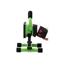EcoVision LED akumulatorski prijenosni LED reflektor 10W sa izmjenjivom baterijom, dimabilni