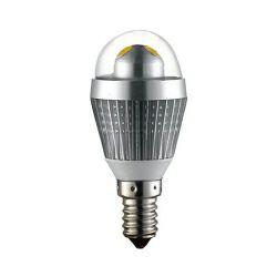 EcoVision LED žarulja E14 kugla, 3W, 2700K, topla-bijela, dimmable, srebrna