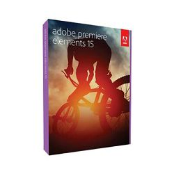 Elektronička licenca ADOBE, Premiere Elements 15 WIN/MAC IE licenca - trajna licenca