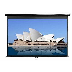 EliteScreens projekcijsko platno zidno 203x203cm crno