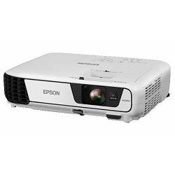 Epson projektor EB-S31 3LCD SVGA (800×600), 3200ANSI lumena, 15000:1, USB Display, USB2.0/WiFi (opcionalno)