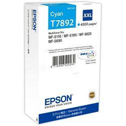 Epson tinta XXL cyan -WF51*/56*