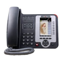 Escene ES620PE Executive IP Phone, HD Color LCD, customizable screen, 8 SIP accounts, 7 programmable key, BLF, XML, PoE, max. 6 expansion modules