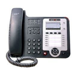 Escene WS320 Professional WiFi IP Phone, Graphic LCD, 2 SIP accounts, 12 programmable key, BLF, XML, Phonebook, w,o PoE, WiFi access