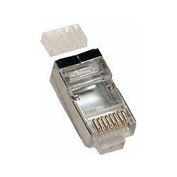 EuroLan conector STP RJ45 Cat6 shielded