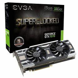 EVGA GeForce GTX 1070 SC GAMING, 08G-P4-6173-KR, 8GB GDDR5, ACX 3.0 LED