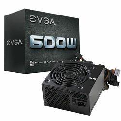 Napajanje EVGA 600 W1, 80 WHITE, 600W