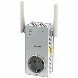 Netgear EX3800-100PES AC750 WLAN RANGE EXTENDERWiFi Range Extender, Dual Band 2.4-5GHz, Fast Ethernet, 192g