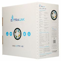 ExtraLink CAT6 FTP (F UTP) V2 Outdoor Twisted Pair 305M