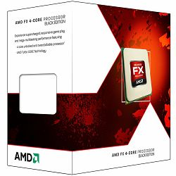 Procesor AMD CPU Desktop FX-Series X4 4300 (3.8GHz,8MB,95W,AM3+) box