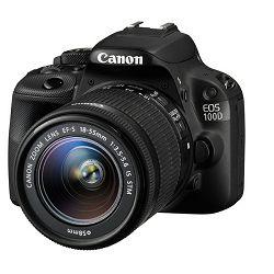 Fotoaparat Canon EOS 100D + 18-55mm DC III