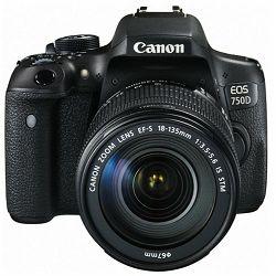 Fotoaparat Canon EOS 750d + 18-135IS