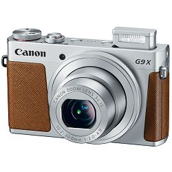 Fotoaparat Canon PS G9X, 20MP, 3x (28-84mm), 3