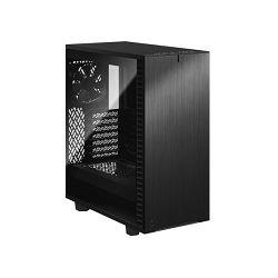Fractal Define 7 Compact TG Dark, crno, bez nap.