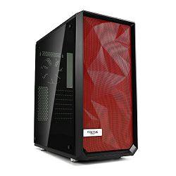 Prednja stranica za kućište Fractal Design Meshify C crvena