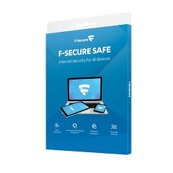 F-Secure SAFE licenca 1g, 5 uređaja, kutija
