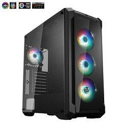 Kućište Fortron CMT 520 Plus, RGB, TG, 4x usb, bez napaj.