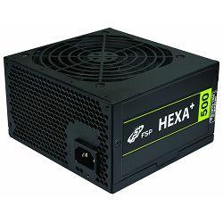 Napajanje Fortron Hexa Plus 500W 80+,active,12 cm