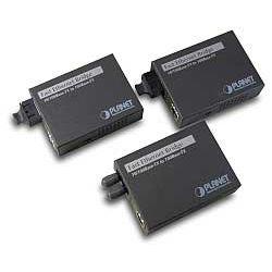 PLANET Media fiber converter 10/100Base-TX-100Base-FX(SC) singlemode 15km