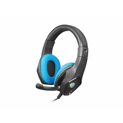 Fury Phantom, gaming slušalice, USB, crna/plava