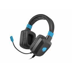 Fury Raptor RGB, gaming slušalice, USB, crna