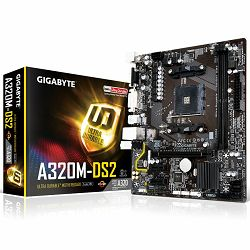Matična ploča Gigabyte AMD A320 (SAM4, DDR4, LAN, DVI/VGA, USB3.1/USB3.0, SATA III,M.2, LAN) mATX Retail