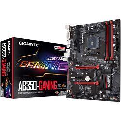 Matična ploča Gigabyte AB350-Gaming Socket AM4 (AMD RYZEN™ processor), 4*DDR4 3200, USB3.1/USB 2.0, DVI-D, HDMI, M.2, SATA III, RAID, GLAN, ATX