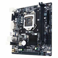 Matična ploča Gigabyte H110M-S2V INTEL H110 (Socket LGA1151,2xDDR4,VGA/DVI,1xPCIEX16/1xPCIEX1,USB3.0/USB2.0, 4xSATA III,LAN) micro ATX retail