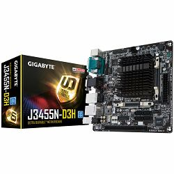 Matična ploča Gigabyte Built-in Intel Celeron J3455, quad-core processor, Dual channel DDR3L SO-DIMM, 2xSATA