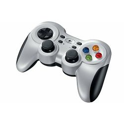 Logitech F710 bežični gamepad, srebrno-crni