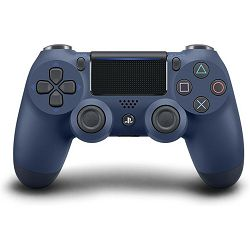Gamepad SONY PlayStation 4, DualShock 4 v2, bežični, midnight blue