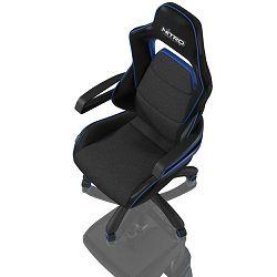 Gaming stolac NITRO CONCEPTS E220 EVO, crno-plavi