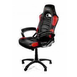 Gaming stolica AROZZI Enzo, crno-crvena
