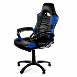 Gaming stolac AROZZI Enzo, crno-plavi