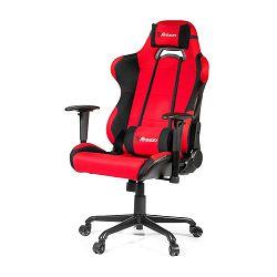 Gaming stolica AROZZI Torreta XL, crveno-crna