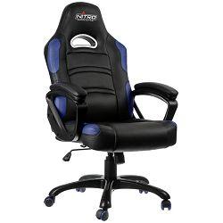 Gaming stolac NITRO CONCEPTS Comfort C80, crno-plavi