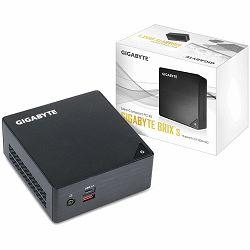Računalo GIGABYTE BRIX kit Intel Core i3-7100U, 2xDDR4 SODIMM (max 32GB), 2.5